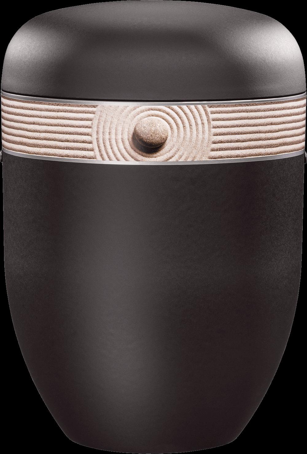 25-3848 Anthrazit-Velours | Dekorband Steinrelief