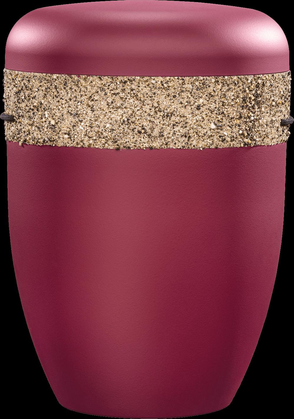 IKT 1453 Bordeaux   Reliefband   Natursand