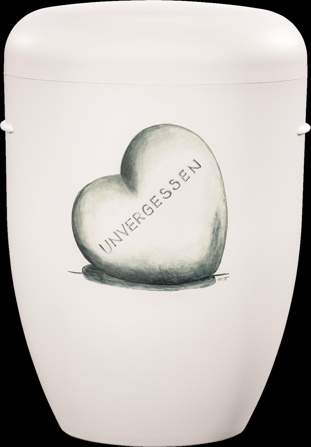IKT 1653 Weiß   Herz