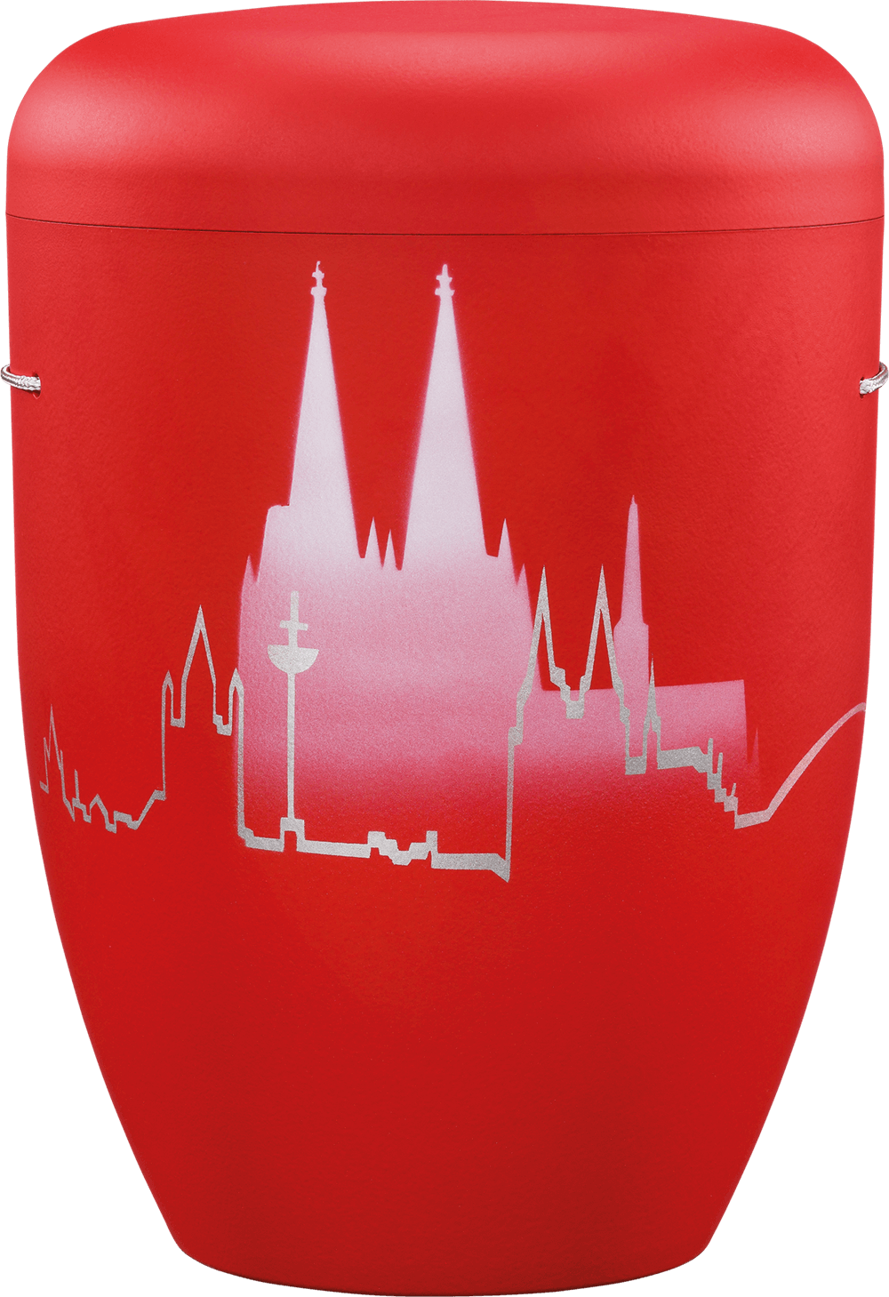 IKT Köln 51 Rot / Köln-Skyline mit Dom